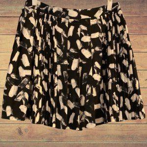 Banana Republic Pleated Ruffle Mini Skirt